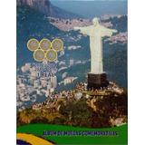 Album Para Moedas Olímpicas Comemorativa Olimpiadas Rio2016