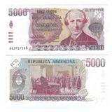 Argentina - Billete 5.000 Pesos 1984 - Nuevo!!!!!