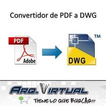 Como Convertir Pdf A Autocad Unico Todas Las Versiones