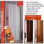 Puerta Plegable Pvc Plástica Para Cocina, Baños,closet