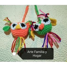 Recuerdos Llaveros Búho Crochet Personalizados