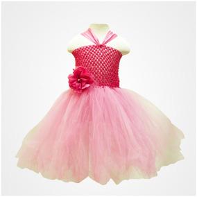 Vestido Tutu Para Niña Color Fiusha