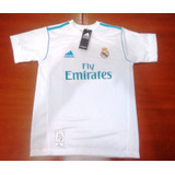 Camisal Real Madrid Infantil Home 17/18 Cristiano Ronaldo 7