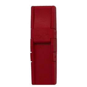 Porta Palheta Vermelho Laz Voz Duplo P/ Clarineta E Sax Alto