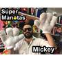 Manos Mickey Mouse - Guantes Manopla - Disfraz Mickey - Kit