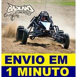 Projeto Kart Cross Megalodon Gaiola, Buggy, Piranha + Brinde