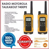 Intercomunicador Radio Walkietalk Motorola T400 35 Millas