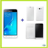 Samsung Galaxy J3 (2016) Ram1.5gb + Flip Original - Blanco