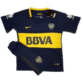 Kit Nike Boca Juniors De Niños 2017/18 Envío Gratis.!!