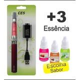 ***01 Cigrro Caneta Eletrôn Recarregável + 03 E-liquid***..