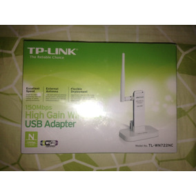 Adaptador Usb Inalambrico Tp-link Tl-wn722n Pc Internet