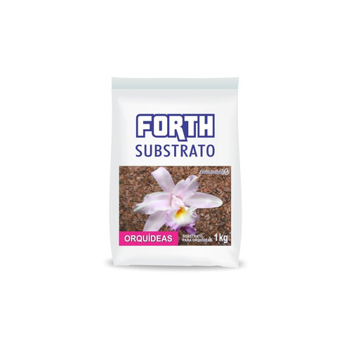Substrato Forth Para Orquídeas Casca + Fibras De Coco