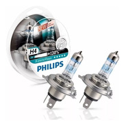 Lamparas Philips H4 Xtreme Vision +130% 60/55w Auto Set X2
