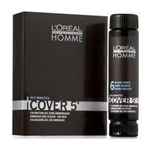 Loreal Homme Cover 5 Tintura Castanho Escuro Nº5 - 3x50ml