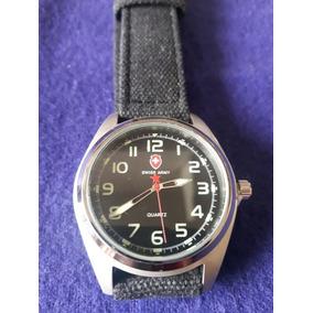Reloj Swiss - Correa Lona - Army