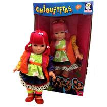 Boneca Laura Laurinha Novela Chiquititas Original Cotiplás