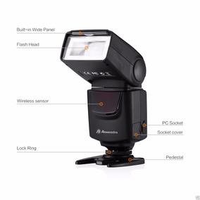 Flash Para Canon, Nikon, Pentax, Samsung, Fujifilm, Olympus