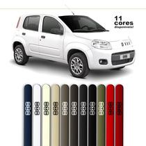 Friso Pintado Para Fiat Novo Uno 4 Pts Amarelo Interlagos