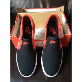 Nike Toki Slip Txt Print Black / Negros Us 12 Uk 11 Eur 46