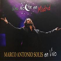 Cd Marco Antonio Solis Una Noche En Madrid Cd Dvd