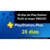 Play Station Plus Ps4 28 Dias