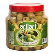 Aceitunas Verdes Sin Carozo Descarozadas 0 X 900 Gr Arilart