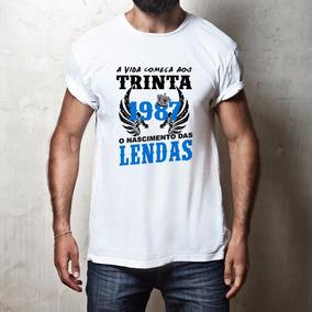 Camiseta Personalizada - Nascimento Das Lendas