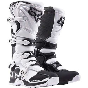 Botas Moto Fox Comp 5 Blanco 10