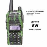 Radio Portatil Profesional Vhf-uhf,handy,mejor Que Kenwood-m