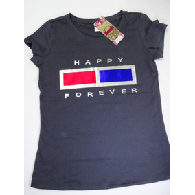 Camiseta Dama Por Docena Full Moda Con Aplique