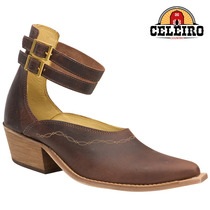 Sapato Mule Blaqueada Feminino Jácomo Couro Legítimo 9331trq