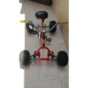 Cuatriciclo P/ Niño, A Pedal. Ideal Cumpleaños, Día Del Niño