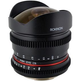 Lente Fisheye Rokinon 8mm T3.8 Cine Para Canon Ef | Garantia