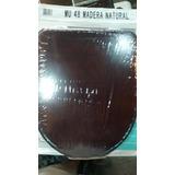Asiento Tabla Madera Murano Pringles Color Cedro Herraje Cro