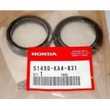 Kit Reten + Guard Suspension Genuino Honda Xr 600/650 87/14