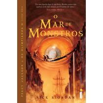 Livro O Mar De Monstros - Percy Jackson (vol. 2)