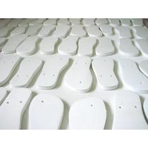 Chinelo Para Sublimação Resinados Kit C/ 5 Pares - C14