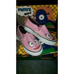 Zapatos Vans Pinto`s Kids Niñas Del 23 Al 28