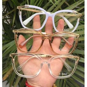 eddec77741fb6 Armação De Grau Chloé Cl 1190 3 Oculos Armacoes Chloe - Óculos no ...