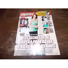 Revista Paparazzi Nancy Duplaa Y Su Descenso De Peso