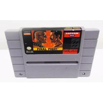 Final Fight 1 Snes Super Nintendo Original