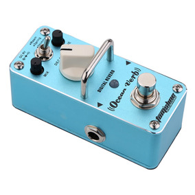 Mini Pedal Digital Reverb Ocean Verb (sem Fonte)