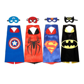 Capas Super Heroes Con Antifaz Importadas, Originales Amazon