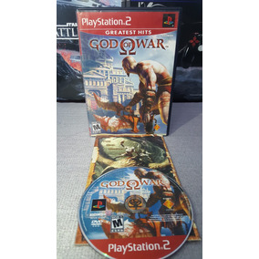 God Of War 1 Juego Ps2 Abierto Excelente Estado *