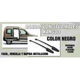 Barra De Techos Renault Kangoo Cromado O Negro