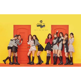 Kpop Twice Twicecoaster: Lane 2 C/poster + 2 Set Photocards