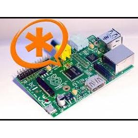 Raspberry Pi 3 Mais Central Telefônica Asterisk