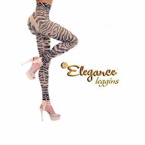 Leggins Elegance Ajustables Animal Leopardo Moldea Levantaup