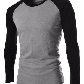 f204f37bdd Camisetas Blusas Manga Longa - Camisetas e Blusas no Mercado Livre ...