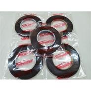 Cinta Bifaz Espumosa Negra Doble Adhesivo 6mm X 5 Mts